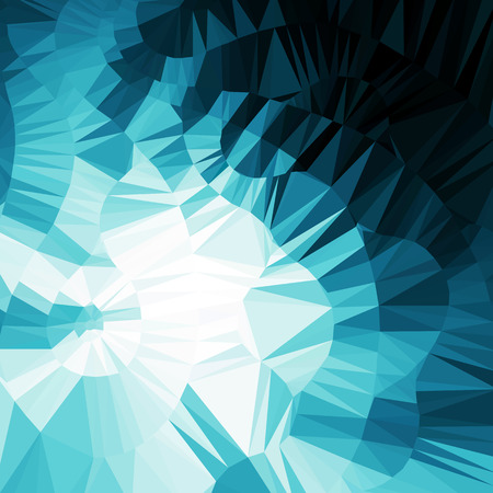 graphic backgrounds: Blue abstract geometric background Illustration