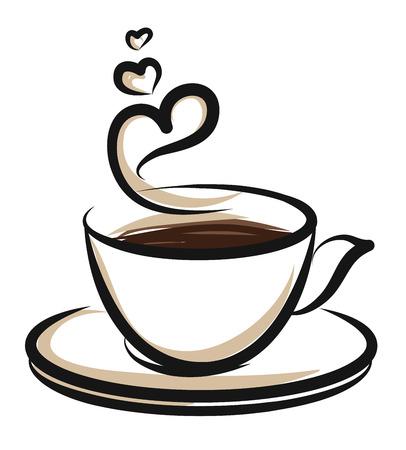 Caffè illustrazione Archivio Fotografico - 49252382