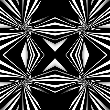 ruban noir: Black and white seamless abstract background Banque d'images