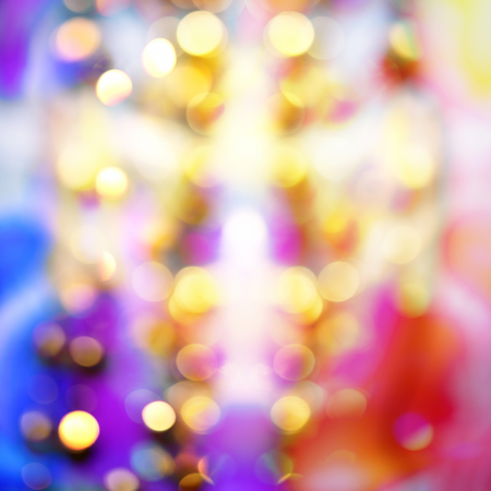 wallpaper vibrant: Abstract background with bokeh lights