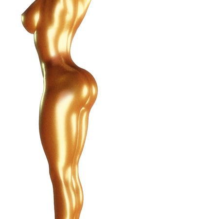 3d rendered illustration of a female