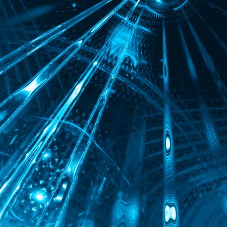 コンピューターで生成されたデジタル抽象的な背景