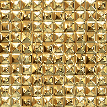 diamond plate: Seamless luxury abstract gold background
