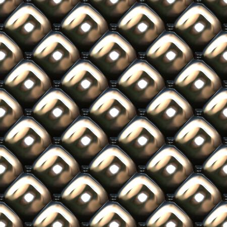 Metallic upholstery seamless background