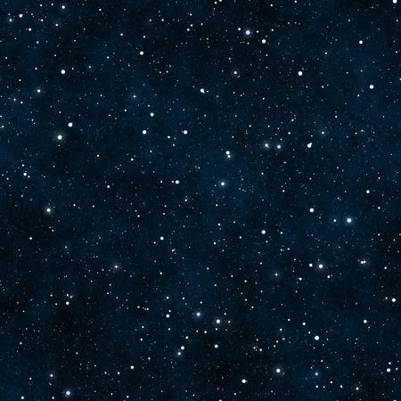 Seamless starry night sky