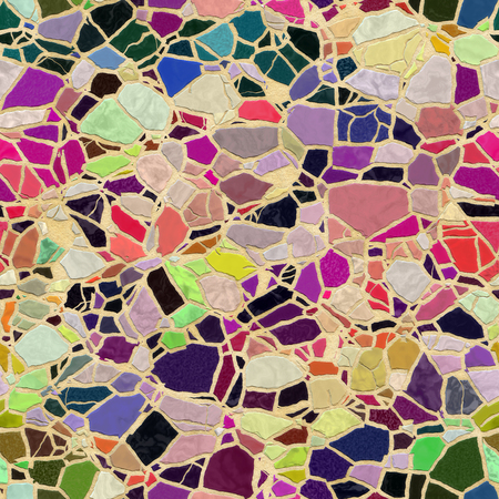 colorful seamless mosaic texture