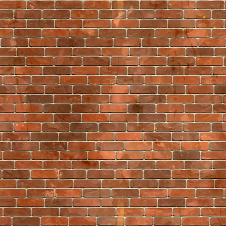 Red brick wall 일러스트