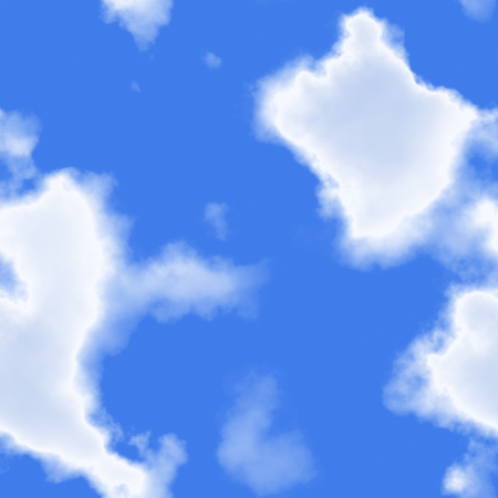 Seamless clouds and blue sky Stock Photo