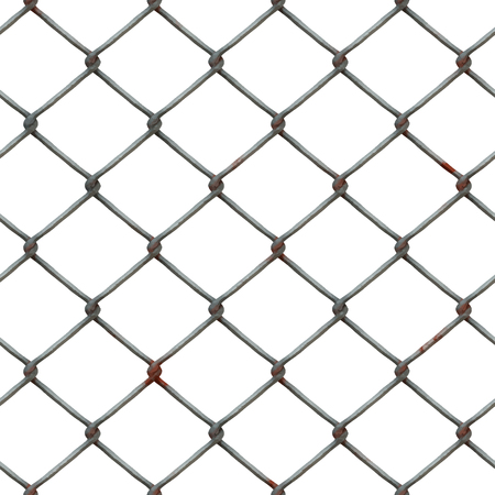 Seamless wire mesh isolated on transparante background