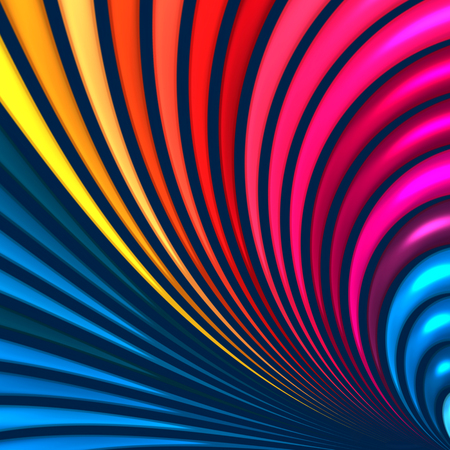 3d colorful  abstract background design