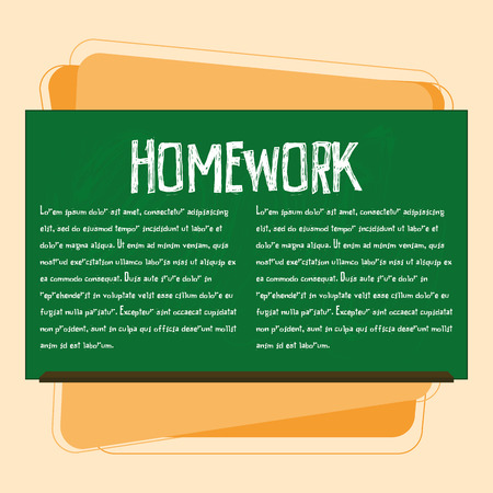 green chalkboard: Vector Green Chalkboard With Space For Text Illustration