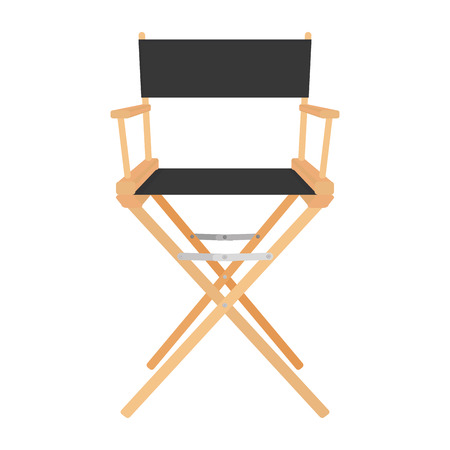director chair: Director Chair Icon Isolated On White Background