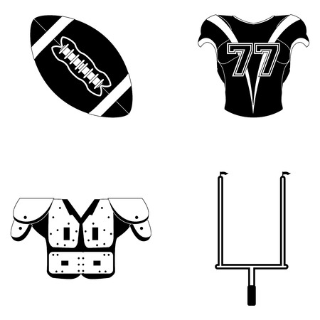 goalpost: a set of different elements used in football