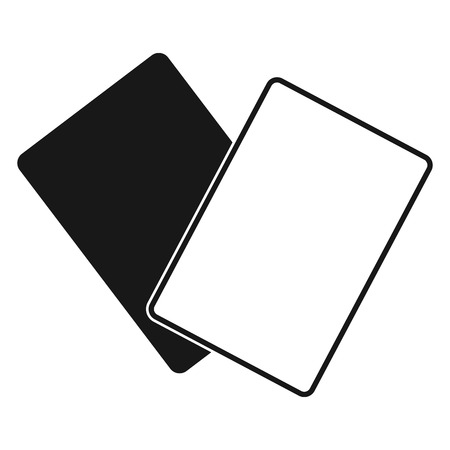 the pair: a pair of soccer cards on a white background