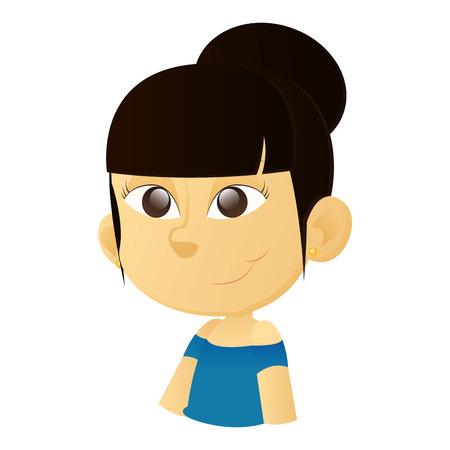 olhos castanhos: uma menina asi