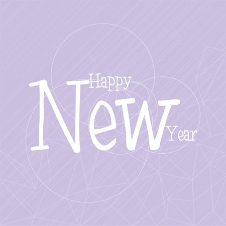 violet background: a violet background with a happy new year message