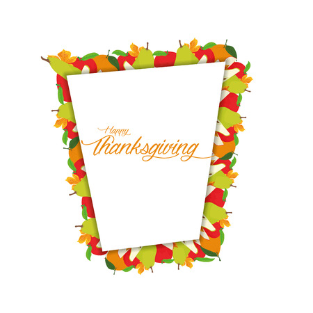 thanksgiving family: Colored background with text for thanksgiving day