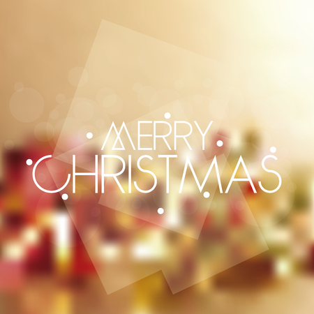 christmas backgrounds: Colored backgrounds with text for christmas celebrations Illustration