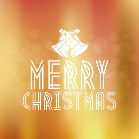 colored backgrounds: Colored backgrounds with text for christmas celebrations Illustration