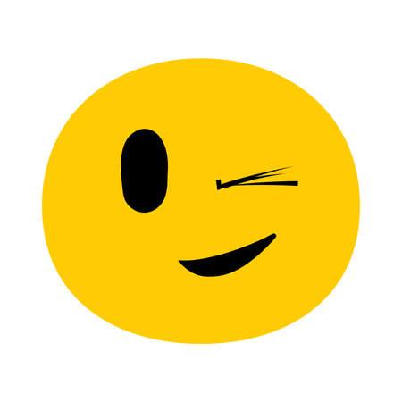 isolated rogue emoji emoticon icon face - Vector 向量圖像