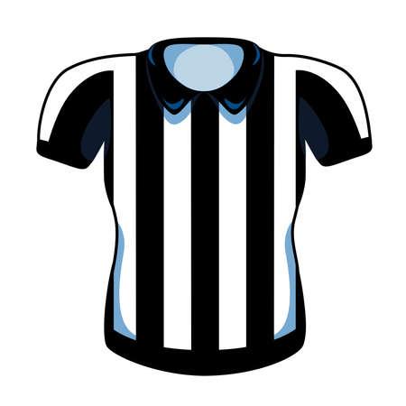isolated referee football National football league icon - Vector