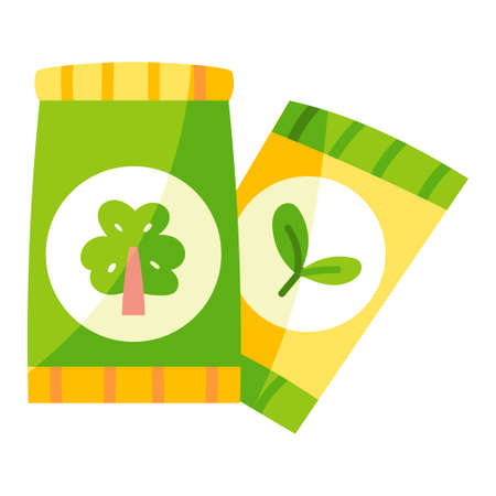 Isolated seed bags icon - Vector illustration design