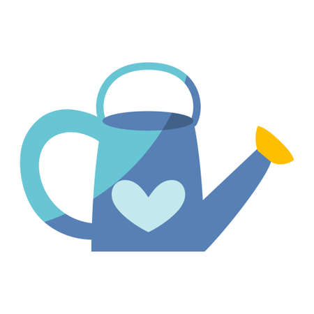 Isolated gardening watering can icon - Vector illustration Vectores