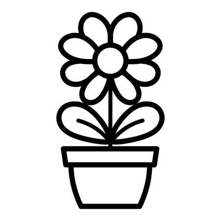 Isolated flower icon. Natural plant - Vector illustration Vectores