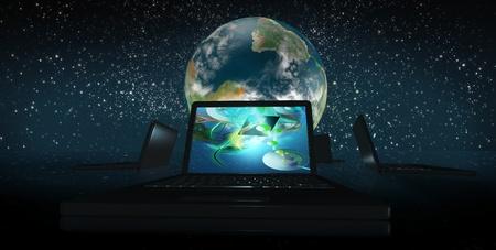 클린 테크 클러스터와 함께 새로운 세계의 새벽