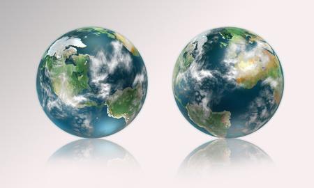 madre tierra: La madre tierra a partir de dos lados