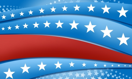 Stars and stripes background graphic