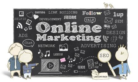 link building: Online Marketing With Business Men