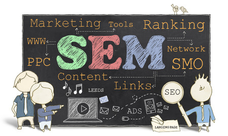 Search Engine Marketing on Blackboard photo