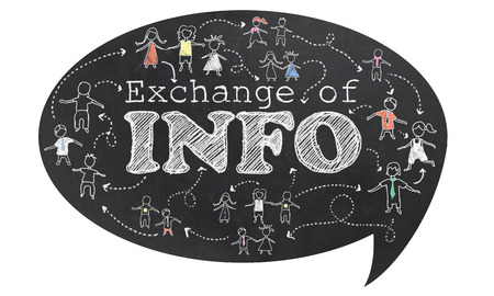 Exchange of Info text on Blackboard