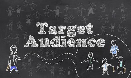 minority: Target Audience Stock Photo
