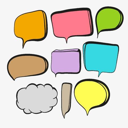 opinion: Speech Bubbles Illustration