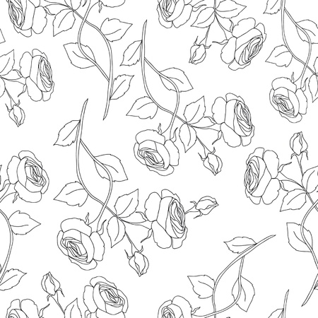 Seamless floral pattern Stock Vector - 18116256