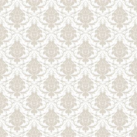 baroque wallpaper: Seamless pattern background Illustration