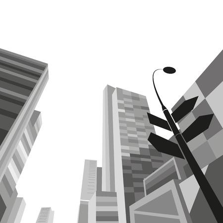 Cityscape, vector illustration Vector