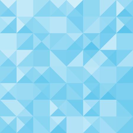 Milieux géométriques abstraites bleu, illustration vectorielle