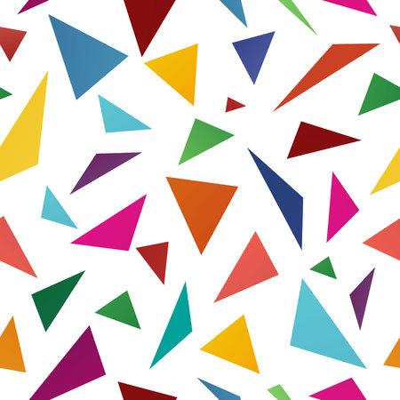 Triángulo de fondos abstractos, ilustración
