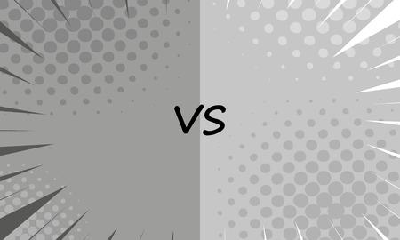 versus: Versus letters fight backgrounds
