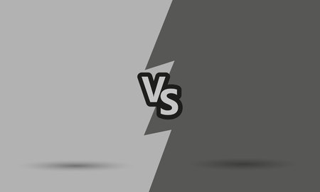 versus: Versus letters fight