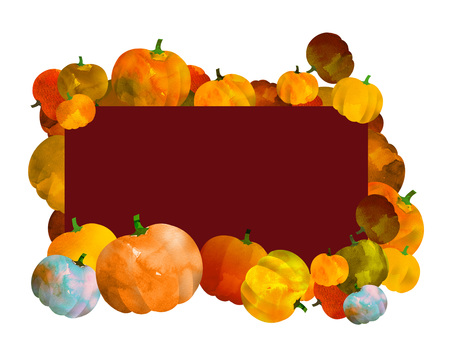day: Pumpkin frame