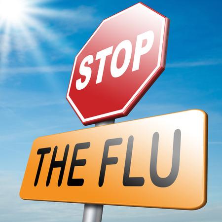 インフルエンザの予防接種予防接種停止ウイルス ワクチンの免疫 写真素材