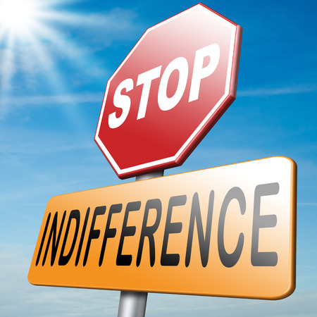 action fund: indifference care about show compassion and give a helping hand or charity donation get involved and show involvement Stock Photo