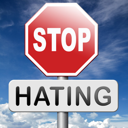 no hate stop hating start loving tolerance and forgiveness