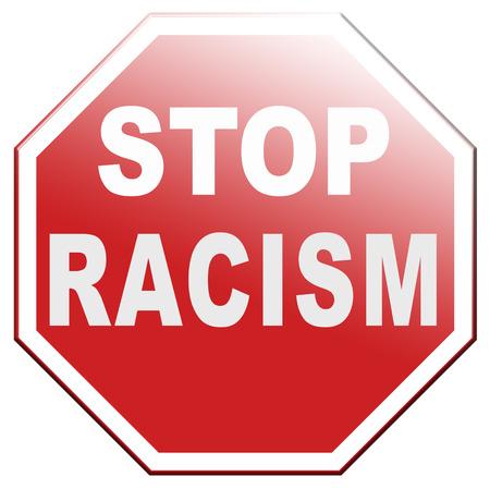 no racism stop discrimination equal rights Banque d'images