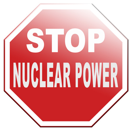chernobyl: no nuclear energy stop radio active waste from nuclear power plant danger of radiation and risk of contamination by gamma radiation