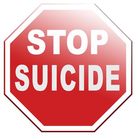 prevention: suicide prevention campaign Stock Photo